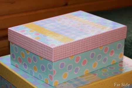 Spring time boxes