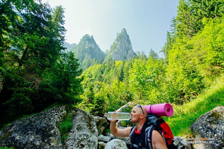 Apa de munte, cel mai bun leac împotriva setei și a oboselii
