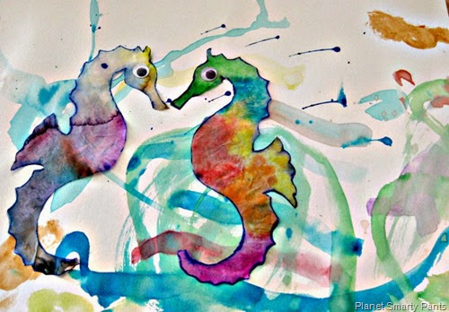 Explore Art of Eric Carle from Planet Smarty Pants