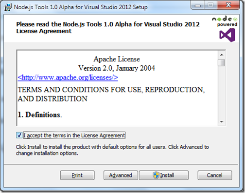 Node-js-visual-studio-tools-installation1