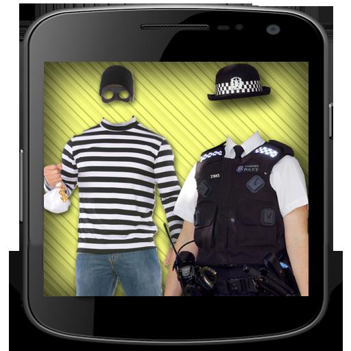 Police Theif Fancy Suit Maker 攝影 App LOGO-APP試玩