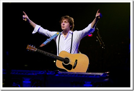 Ex-Beatle, Paul Maccartney se prepara para vir ao Recife.