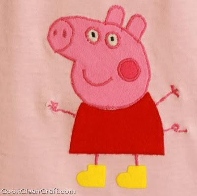 Peppa Pig Applique (1)