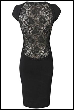 French Connection Dani Crepe Lace Back Dress Swank Boutique Blog