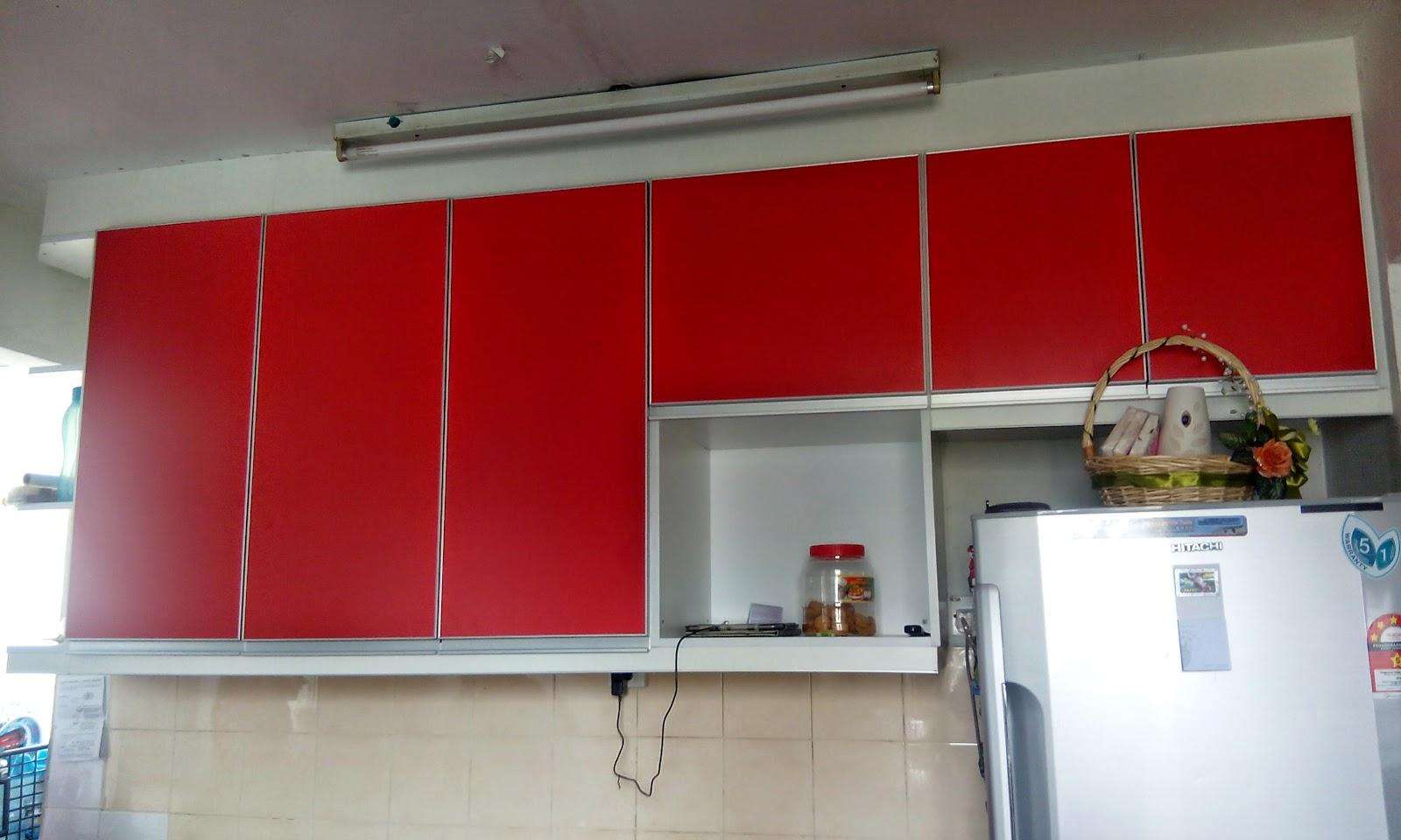 Dgn Menggunakan Material Milamine Board Kaler Merah Memang Kelihatan Agak Simple Tp Manarik