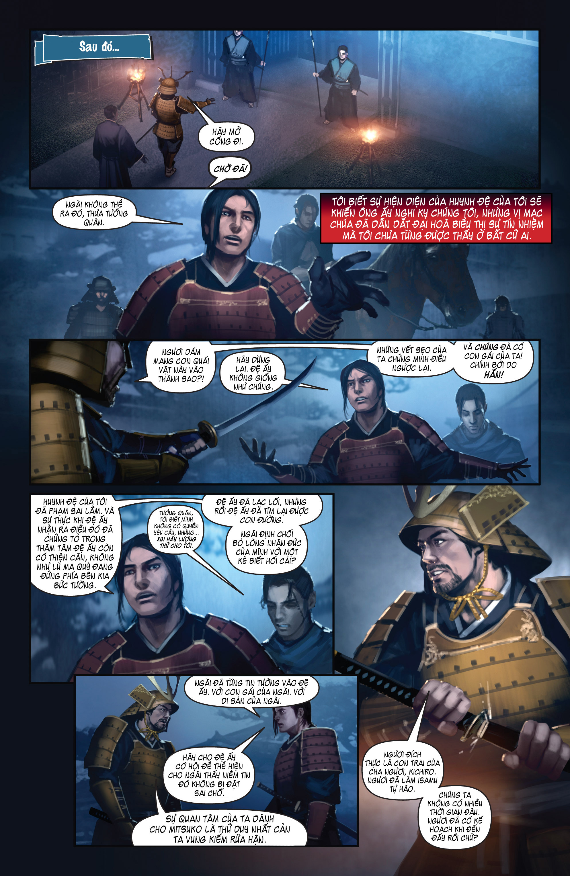BUSHIDO - THE WAY OF THE WARRIOR chapter 5 - end trang 10