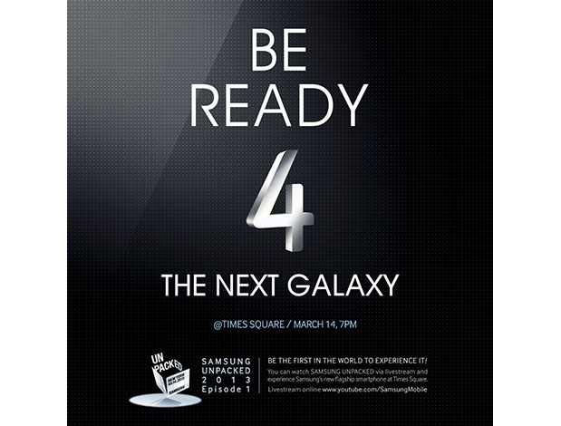samsung galaxy s iv launch times square new york 7pm