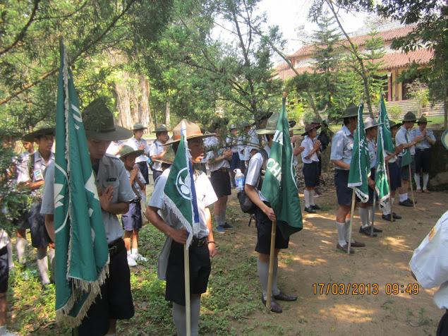 TraiDungThuaThioem2013 10 BHD GĐPT Thừa Thiên tổ chức Trại Dũng năm 2013
