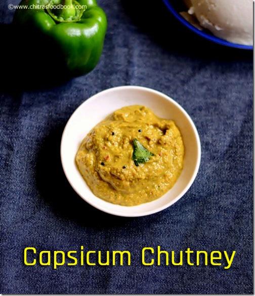 Capsicum-chutney