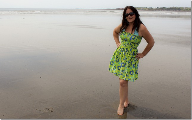 green beach dress_4390