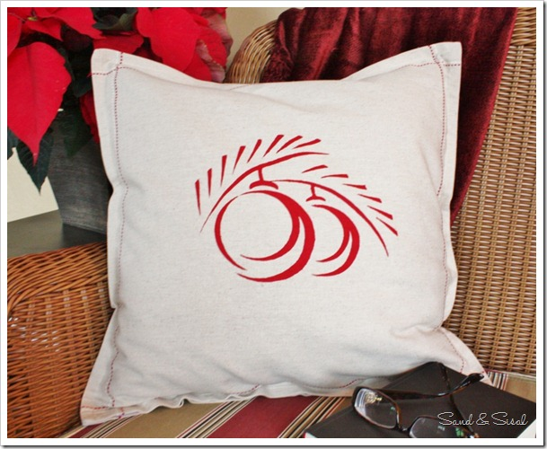 Simple Silk Screen Pillow Covers