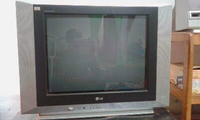 Zenntronic Problem Tv LG 21inch Layar Datar
