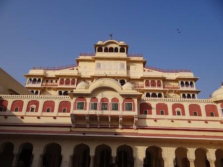 52. Palatul maharajahului din Jaipur.JPG