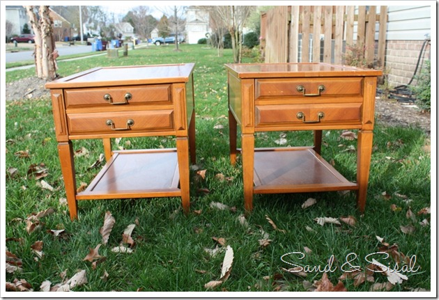 Mersman Side tables (before)