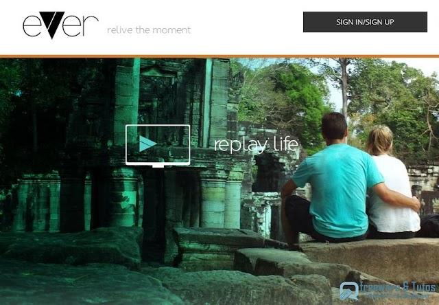 Evver : un nouveau service en ligne pour créer rapidement une vidéo à partir de vos photos