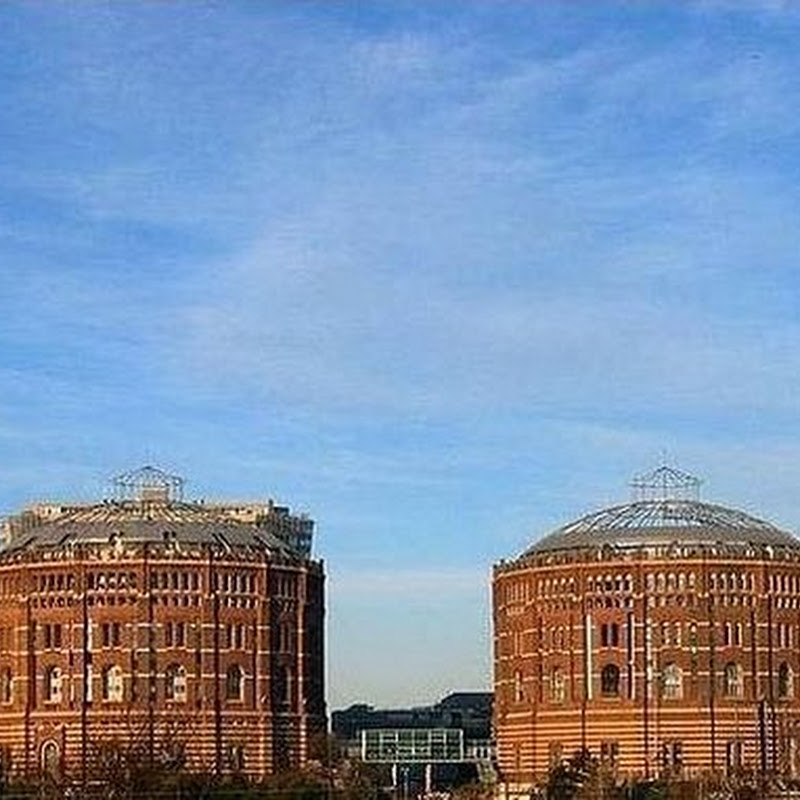 Gasometers of Vienna: Former Gas Storage Tanks Turned Into Housing