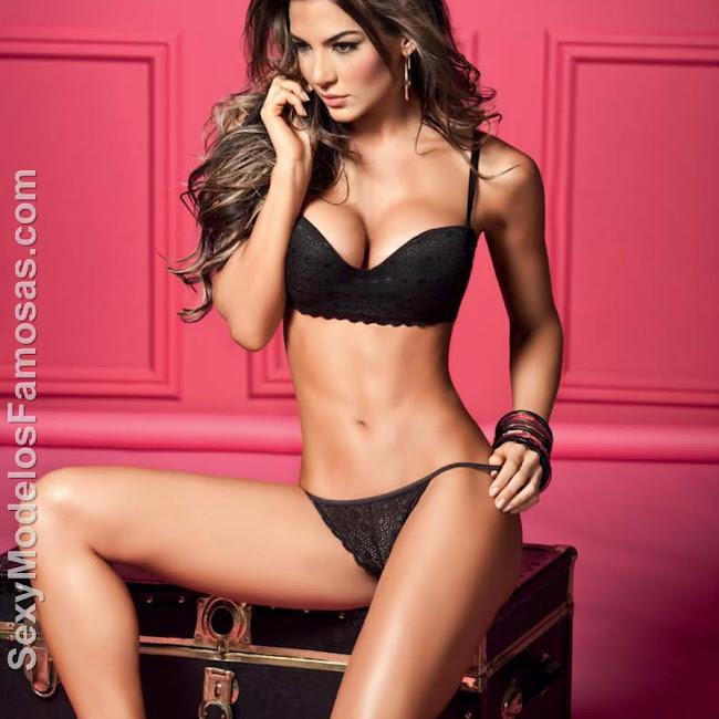 Natalia Velez Sexy Lenceria Besame Foto 22