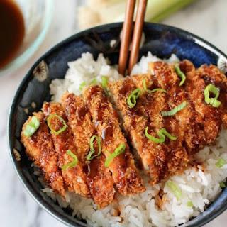 Tonkatsu recipe (Japanese pork cutlet).