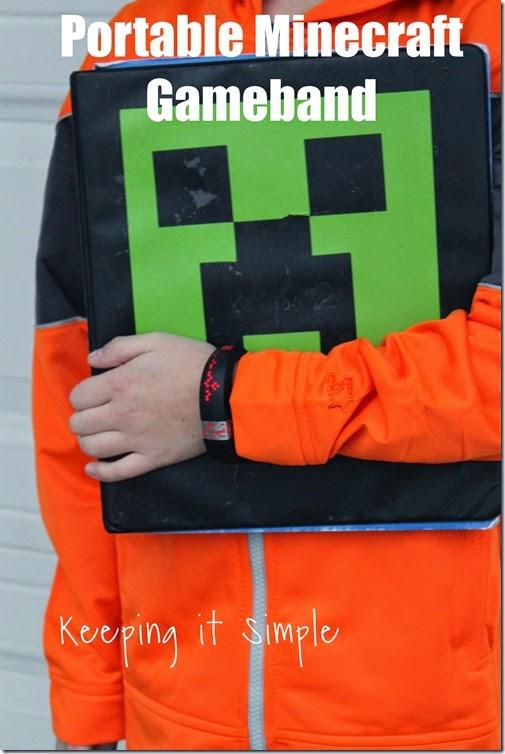 #ad Minecraft-gameband #GameontheGo