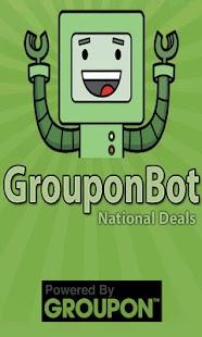 Grouponbot.com Groupon Deals - screenshot thumbnail