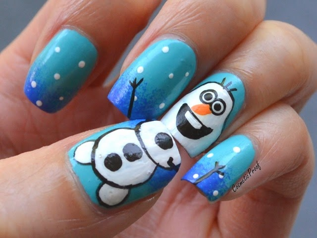 Revlon | Colorstay Gel Envy Polishes with Olaf from Frozen Nail Art ...
