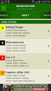 Equibase Today S Racing Apps On Google Play