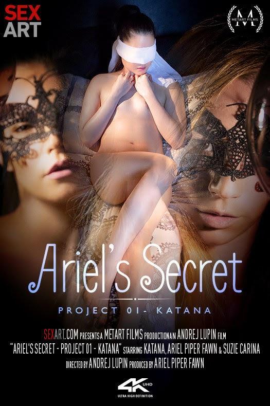 [Sexart] Ariel Piper Fawn, Katana, Suzie Carina - Ariel's Secret - Project 1 Katana cover_63734817