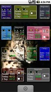 Sleepmeter Widget- screenshot thumbnail