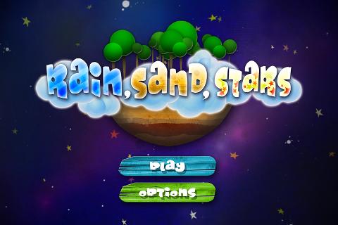 Rain Sand Stars