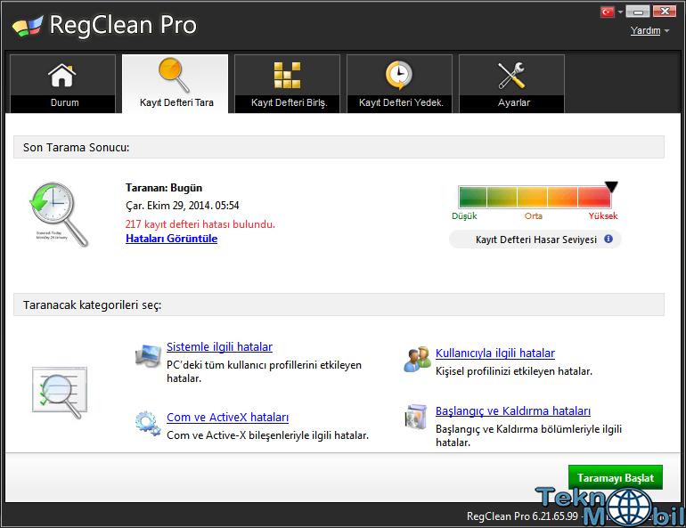 Regclean Pro v7.2.72.227 Full