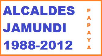 ALCALDES JAMUNDI