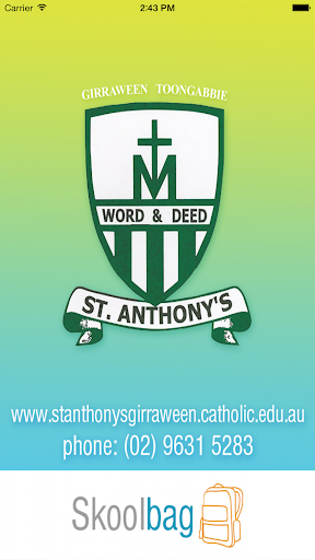 【免費教育App】St Anthony's Primary Skoolbag-APP點子