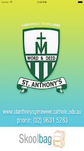 St Anthony's Primary Skoolbag- screenshot thumbnail