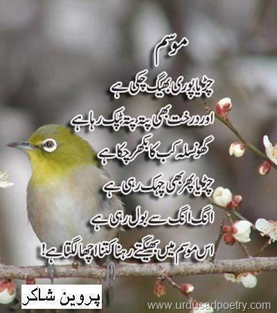 Essay on mausam e sarma in urdu