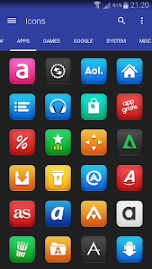 Vexer - Icon Pack v1.0