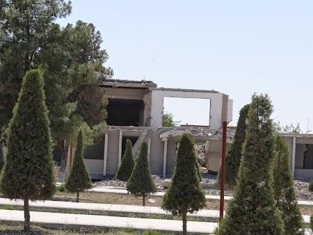 Orasul lui Timur Lenk: Demolari la Shahrisabz