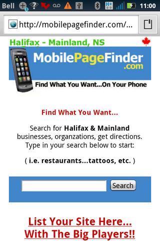 【免費購物App】Mobile Page Finder-APP點子