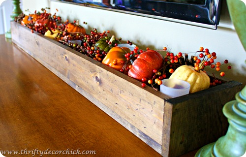 Thrifty Decor Chick: Mini pumpkins three ways (fall linky!)