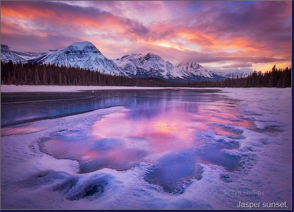 Jasper sunset, by Chip Phillips77