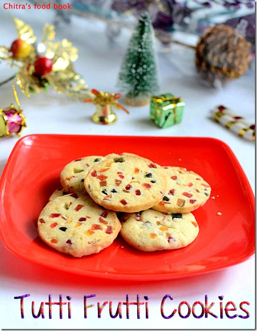 eggless tutti frutti cookies recipe-1