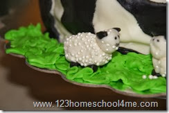 DIY Marshmallow Fondant Sheep
