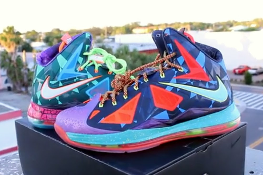 1c9e73d30bfd NIKE LEBRON X 8220What the MVP8221 8211 Pics amp Video Review ...