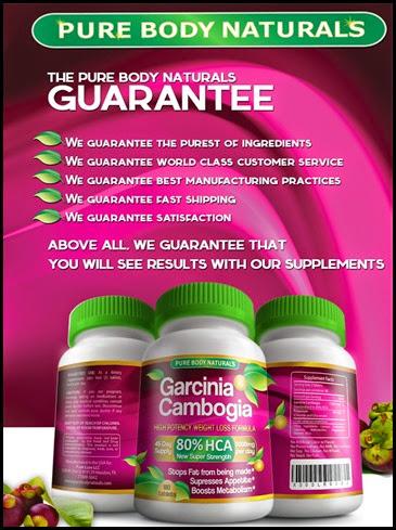 Garcinia Cambrogia Guarantees