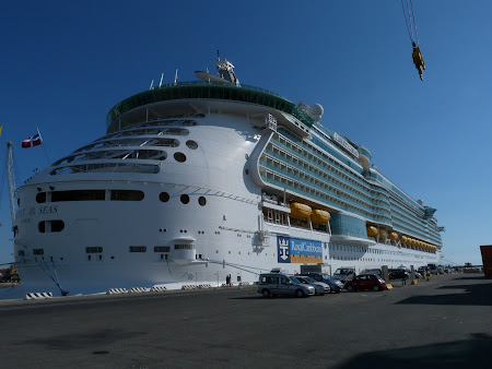 Croaziera Royal Carribean: Liberty of the Seas in Livorno
