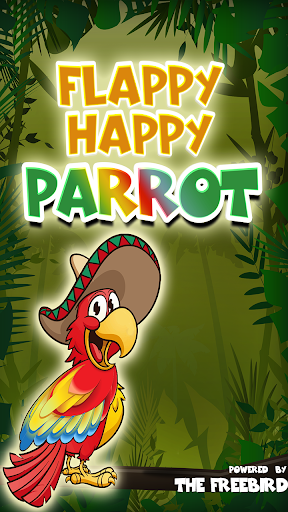 The flappy happy parrot