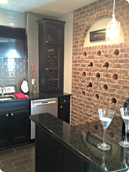 wine storage in wall