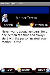Mother Teresa Quotes - Free - screenshot thumbnail