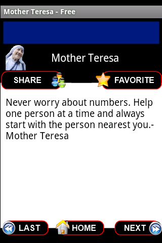 Mother Teresa Quotes - Free - screenshot