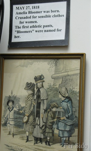 Bloomers Wadena Historical Society