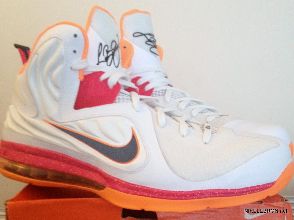 premium selection 52f1a ffa10 ... PE Spotlight Nike LeBron 9 Floridians HWC Player Exclusive ...